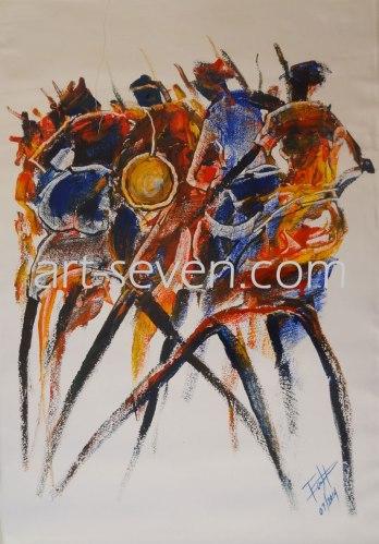 Dance_to_the_beat_art-seven.com