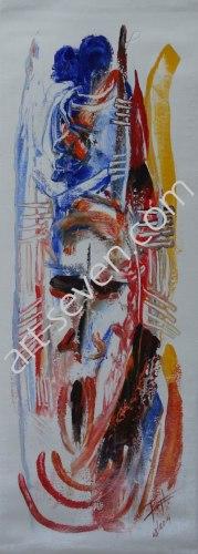 Friendly Spirit, ca. 80x30 cm, Preis: € 720