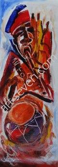 Music Time, ca. 80x30 cm, Preis: € 930