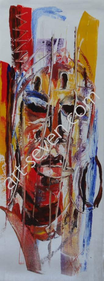 Queen Mother, ca. 80x30 cm, Preis: € 1.100