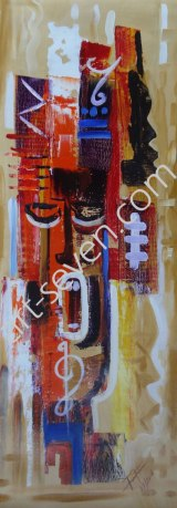 Sound of Music, ca. 80x30 cm, Preis: € 970